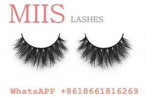 real mink fur strip lashes